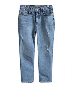 <br> Pig Pretty Semi Baggy Denim Pants <br><br>
