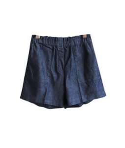 <br> Soft Denim Banding Shorts <br><br>
