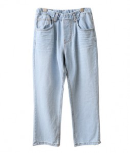 <br> Natural Light blue Banding 8 Pants <br><br>