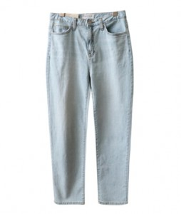 <br> 쫀쫀 Light blue Semi Baggy Pants <br><br>