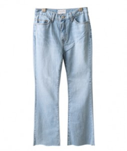 <br> feminine Trumpet Light blue Pants <br><br>