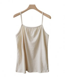 <br> Necking String Sleeveless shirts <br><br>