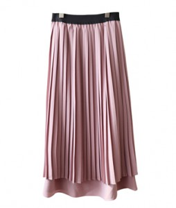 <br> 2 step Pleats Skirt <br><br>