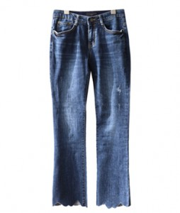 <br> Hem key point Boot cut Denim Pants <br><br>