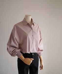 scott cotton blouse [Pink]<br>