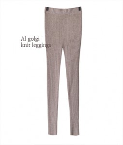 Al Golgi Knit[771] leggings<br>