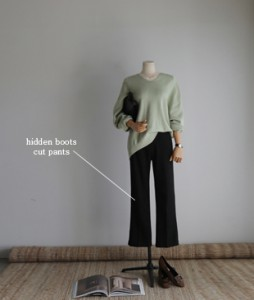 Hidden Boot cut[077] pt<br>