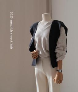 Andi V-neck[388] knit<br>