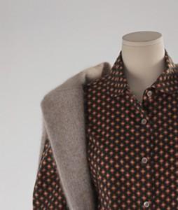 Flower Cotton Unbal[868] shirts<br>