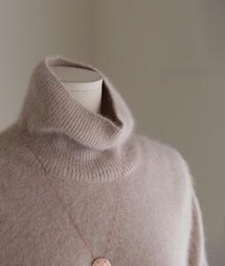 Raccoon fox turtleneck[191] knit<br>