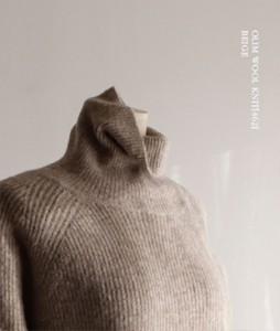 Olim Wool[462] knit<br>