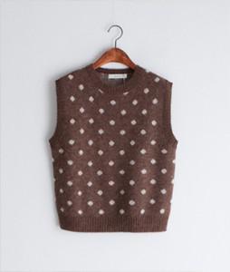 Tlon Alpaca[781] knit vest<br>