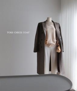 Toks Check[784] coat<br>