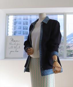 Dolan knit denim [085] jacket<br>