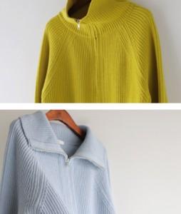 Fine Wool Zipup[103] cardigan<br>