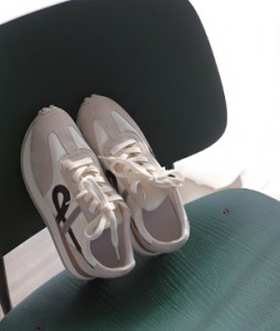 Suede line[237] sneakers<br>