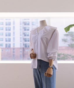 Mayjly Freel[388] blouse[Ivory]<br>
