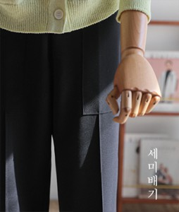 Wilia 세미배기[390] slacks <br>