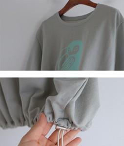 Owl printing20 tee<br>
