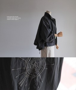 Link back embroidery 36 windbreaker<br>