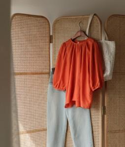 Libon Linen30 blouse<br>