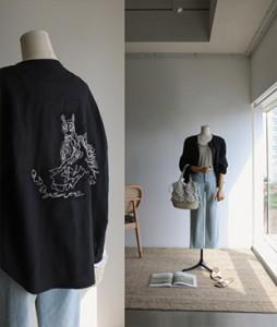 Rov Linen printing jacket<br>