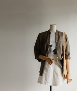 Pocket Linen41 blouse<br>