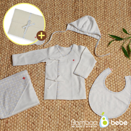 Bamboo Four Season Newborn Baby Clothing Gift Set (Lucky Pattern)