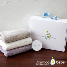 Pure bamboo roof-in face towel<br> [3 set]