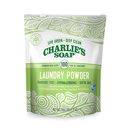 [Charlie Soap] Made with natural washing soda<br> Powder detergent 1.2kg (for 100 companies)
