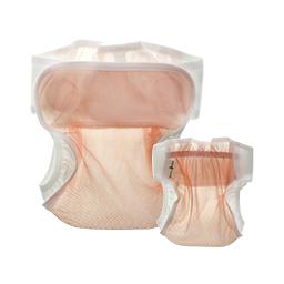 Airy Mesh Diaper Cover (Peach)