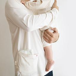 Arang-ah and Dad Tea_Long-sleeve<br> <b>(Cream/White option 1)</b>