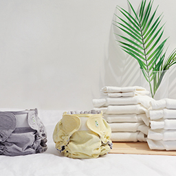 Gentle bamboo relief cloth diapers beginner mom package<br> <font color=#3a7eba><b>[Relief cloth diapers 10 sheets + NEWCover 2Piece + Doubler 2 sheets + Foaming detergent 1Piece]</b></font>