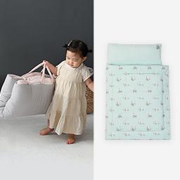 Bamboo Baby Nap Mat Set (Sky Mint)