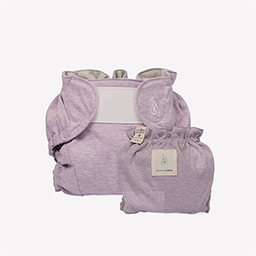 Double Band Waterproof Diaper Cover (Lavender violet)