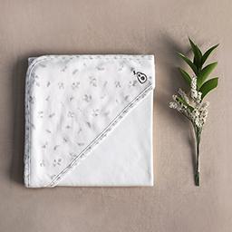 Bamboo Four Season Newborn Baby Swaddle Blanket  (Flower Pattern)