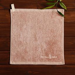 Bamboo Hangable Ring Towel (Cloud Pink)