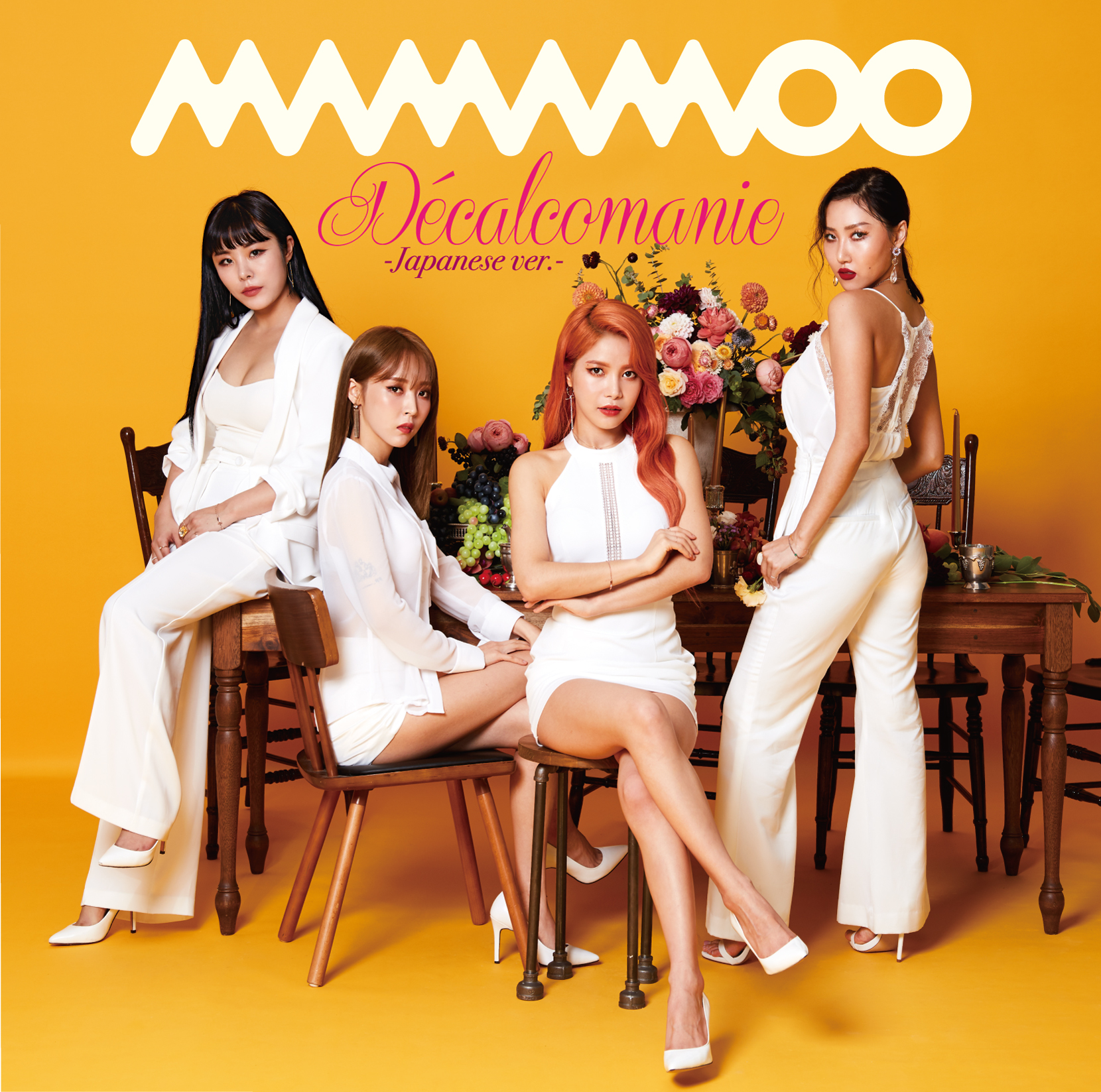 [MAMAMOO] Decalcomanie -Japanese