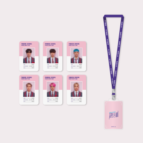 [EARTH & MOON] STUDENT ID CARD SET