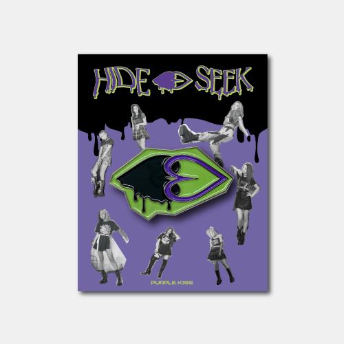 [PURPLE KISS] HIDE&SEEK BADGE