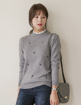 Leaf Double Knit Tee C100506