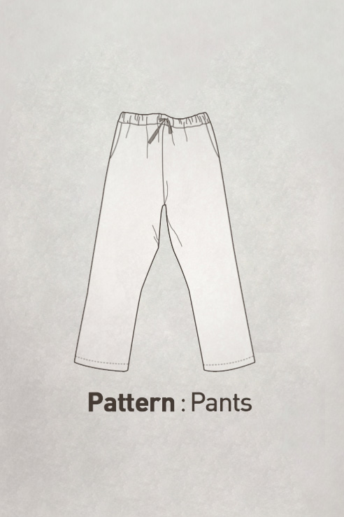 Men's Pants Pattern CTV-094(Adult)