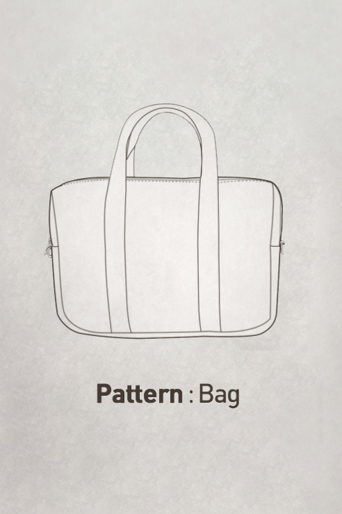 Boston Bag Pattern CTV-097