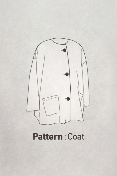 Adult Pattern - Round Basic Coat CTV-081