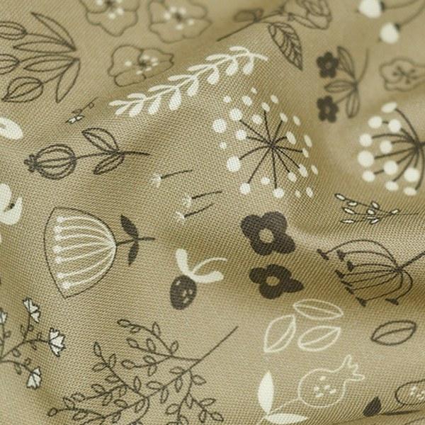 """Cotton sheeting-Urban Garden Beige(44"""")"""