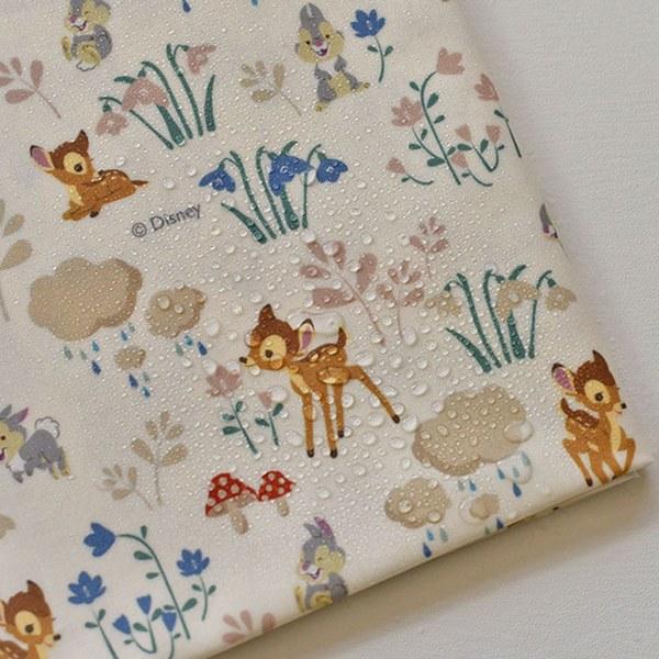 "Laminated Cotton-Disney-Sweet Forest Bambi(44"")"