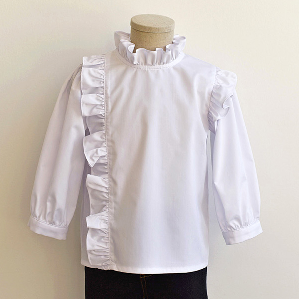Frill Blouse pattern TH-101(Child)