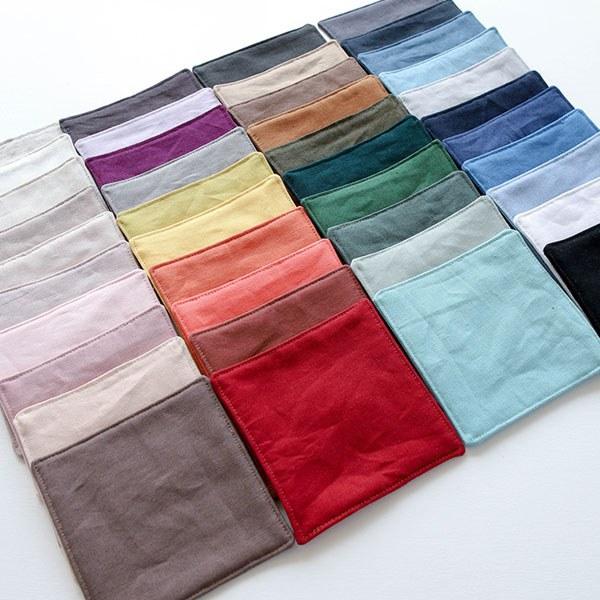 """Washed Linen Cotton-Libre, 43colors(52"""")"""