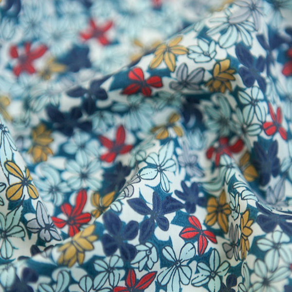 "Cotton lawn, RevLawn-Campanulla Mazarine blue(54"")"