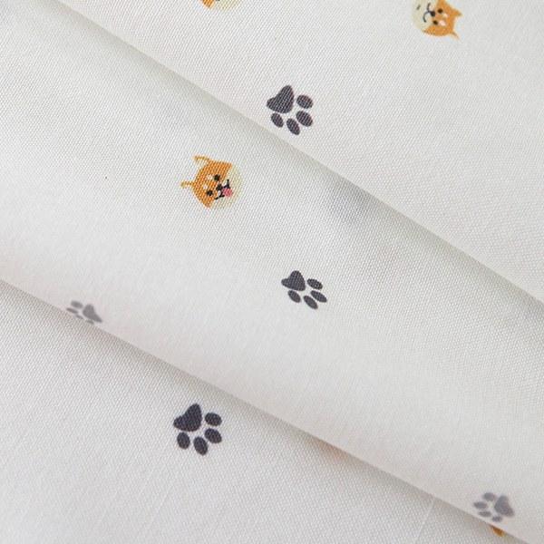 "Cotton sheeting-Morimorishiba Ivory(44"")"